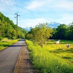 Piste cyclable Pyrénées